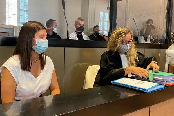 30/08/2021. David Weniger comparait devant la cour d'assises d'Aix-en-Provence pour tentative de meurtre sur sa compagne