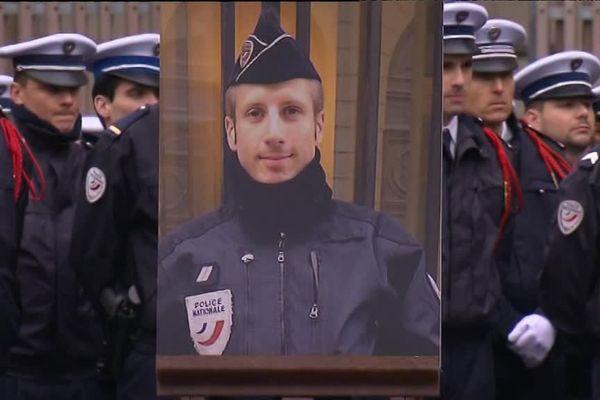 Hommage national rendu à Xavier Jugelé à la Préfecture de Police de Paris - 25 avril 2017