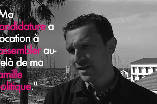 Julien Morganti, vice-président de la Communauté d'agglomération de Bastia