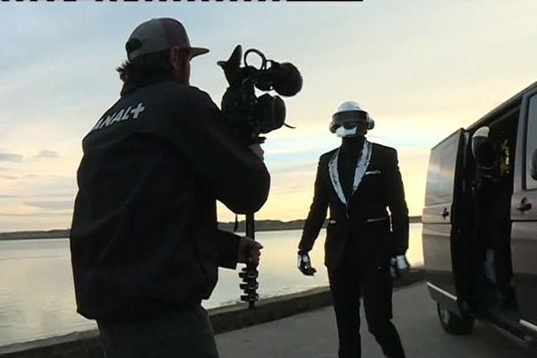 De faux Daft Punk plaident pour la cause de la baie de Somme