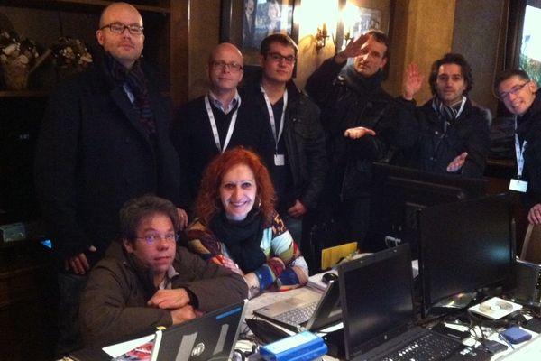 L'équipe de France 3 Lorraine prête à vous faire vivre pendant cinq jours Gérardmer 2013.