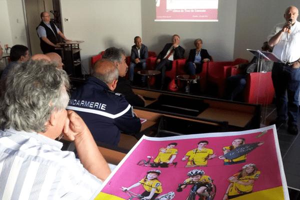 Présentation de l'édition 2014 du Tour du Limousin présidé par Claude Fayemendy