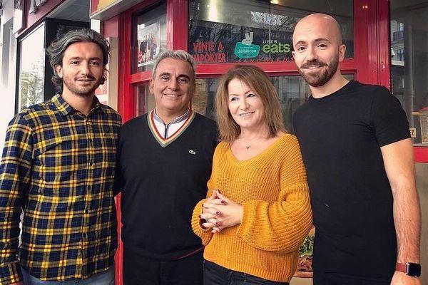 La solidarité, une valeur pour la famille de Mavzer Tasdelen ( à droite).