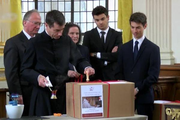 L'enquête docésaine scellée à l'arcevêché de Rouen le 9 mars 2019