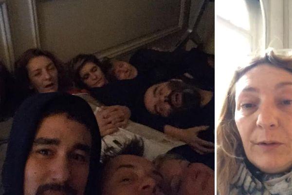 Corinne Masiero et des militants ont dormi dans les locaux de la DRAC.