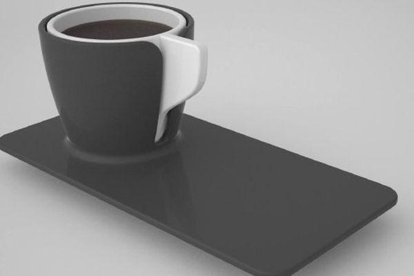 """La création de Bryan Giqueaux, """"Matriochkas"""", 1er prix du concours Porcelain Coffee Cup 2015"""
