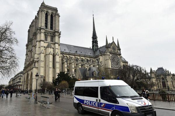 La cathédrale de Notre-Dame de Paris en 2015.