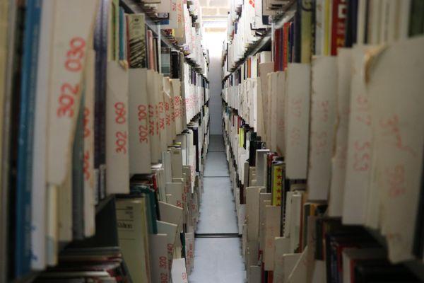 Les rayons sont bien garnis : la Discothèque compte plus d'un million de disques.
