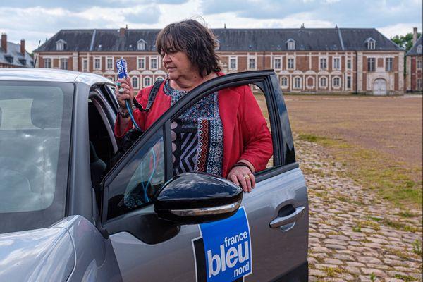 """Claire Mesureur occupe depuis 35 ans ce poste de correspondante permanente à Arras. Elle est """"Reporter en résidence"""""""