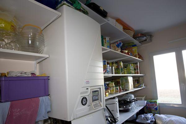 Une pompe à chaleur dernière génération dans l'habitation d'un particulier.