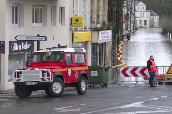 L'eau de la Charente monte toujours à Saintes
