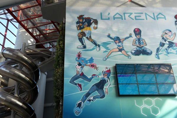 L'Arena, la nouvelle attraction du Futuroscope a ouvert ce samedi 7 février 2015.