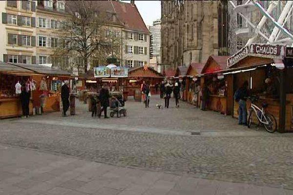 Le marché de Noël à Mulhouse
