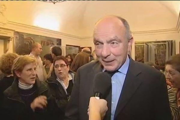 Paul Quillichini, réélu maire de Sartène, le 30 mars 2014