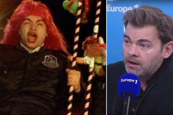 """Clovis Cornillac alias """"Christian"""", dans le film """"Karnaval et Clovis Cornillac sur Europe 1 ce jeudi matin"""