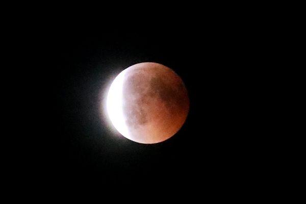 Le 28 juillet 2018, une éclipse de Lune était visible en France.