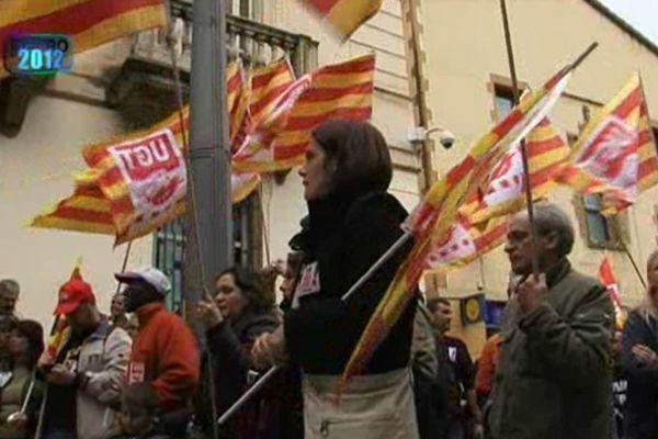 En 2012, l 'Espagne manifeste