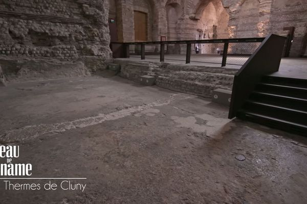 Piscine des Thermes gallo-romains de Cluny