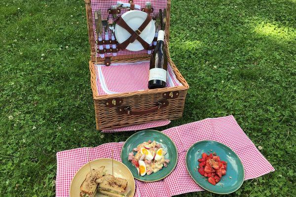 Voici les idées d'un chef de Riom, dans le Puy-de-Dôme, pour préparer un pique-nique 100 % made in Auvergne.