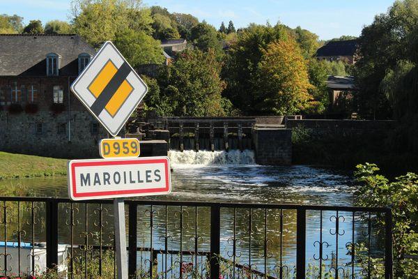 Le petit village de Maroilles