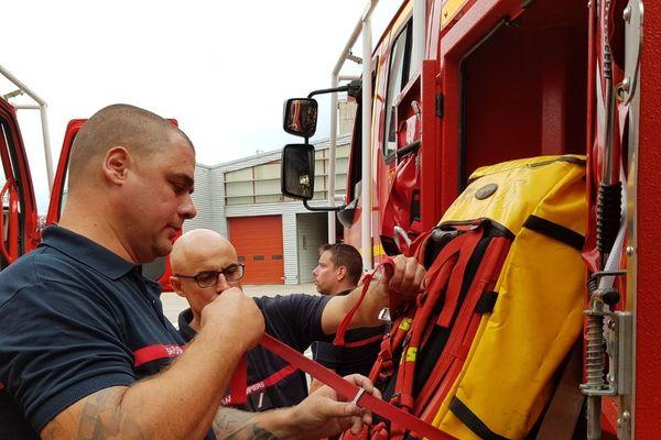 Pompiers en action (image d'illustration)
