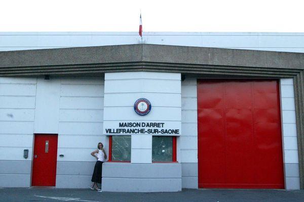 Entrée de la maison d'arrêt de Villefranche-sur-Saône