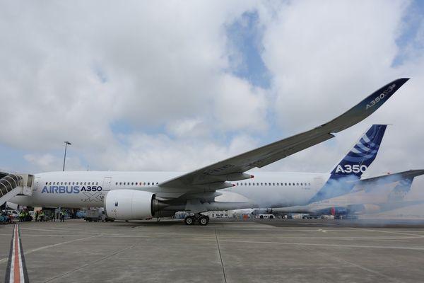 Airbus A350 à Toulouse