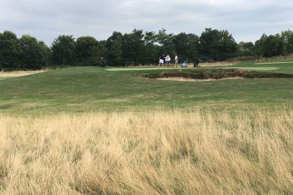 Le golf de Louvigny, près de Caen