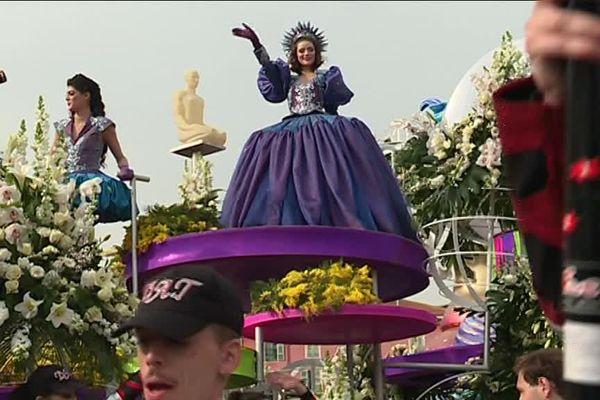Marina Sicard, la reine de ce 134e Carnaval de Nice.