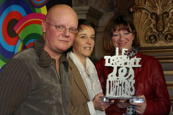 Moetu Battle et David Passegand, lauréats 2012 du Trophée des Lumières