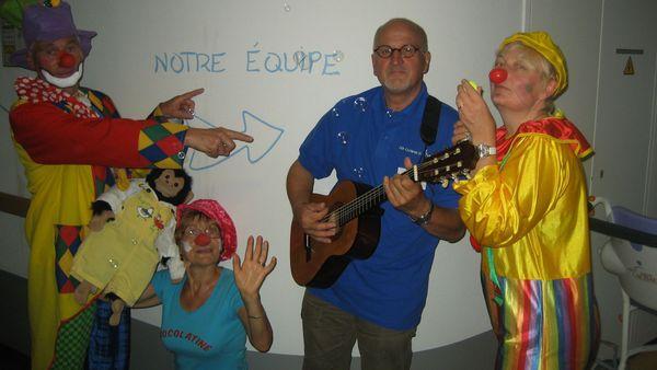 L'équipe des clowns de Sarah
