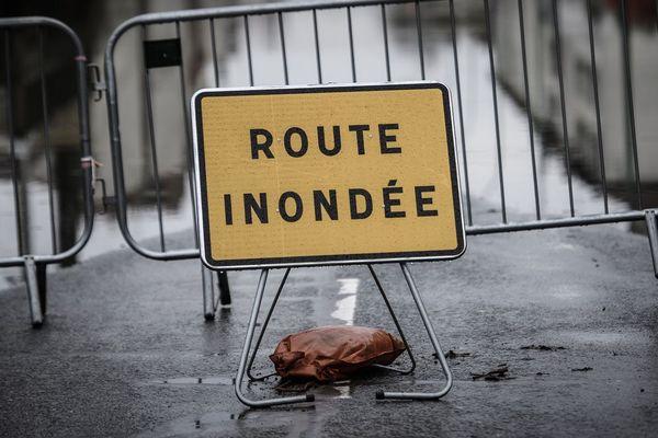 Vingt communes de l'Allier sont concernées par cette alerte à la crue, ce dimanche 22 décembre.