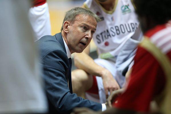 Vincent Collet, entraîneur de la SIG