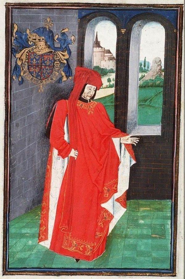 """Jean de Bourgogne, comte d'Etampes, représenté dans """"Statuts, Ordonnances et Armorial de l'Ordre de la Toison d'Or"""""""