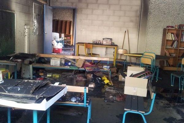 Qautre classes du groupe scolaire Daniel Faucher 1 dans le quartier de la Reynerie à Toulouse ont été endommagées