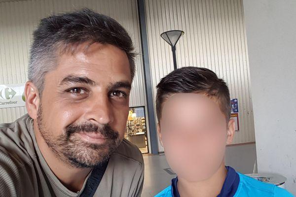 Christophe Disconsi cherche une place dans un hôpital de Haute-Garonne pour son fils Maxime, 13 ans, atteint de Schizophrénie précoce.