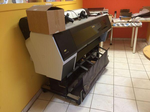 Les dégâts dans l'imprimerie à Prigonrieux après l'orage