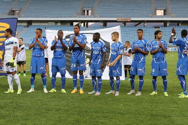 L'AJ Auxerre a battu le Petit Poucet du National, le CA Bastia lors du 2e tour de la Coupe de la Ligue, mardi 25 août 2015.