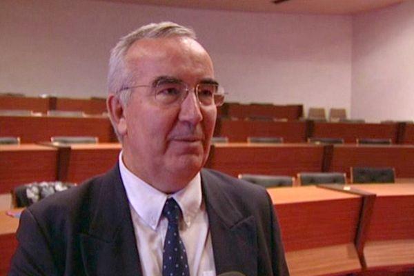 Jean-Pierre Limousin considère que le projet de LGV Limoges-Poitiers n'est pas gelé, jeudi 4 octobre 2012