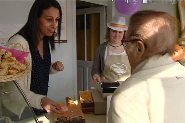 A la boulangerie de Kevin Rodion à Gréneville-en-Beauce (45).