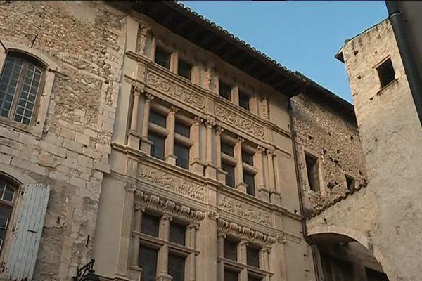 La maison des chevaliers à Viviers est un des projets retenus par le fonds d'aide