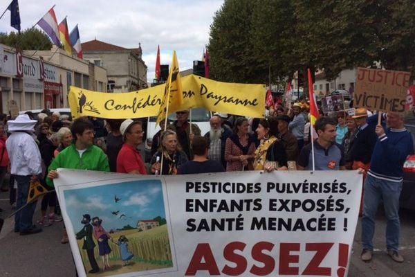 Les marcheurs se sont donnés rendez-vous dimanche 8 octobre à Listrac-Médoc