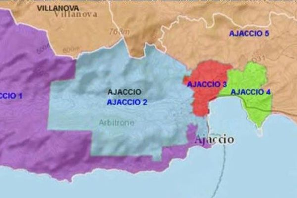 Le deuxième canton d'Ajacio compte 7.500 électeurs.
