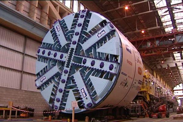 Le constructeur de tunneliers NFM Technologies possède une usine du Creusot, en Saône-et-Loire