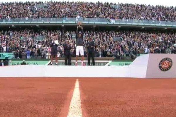 Nadal remporte Rolland Garros en 2012