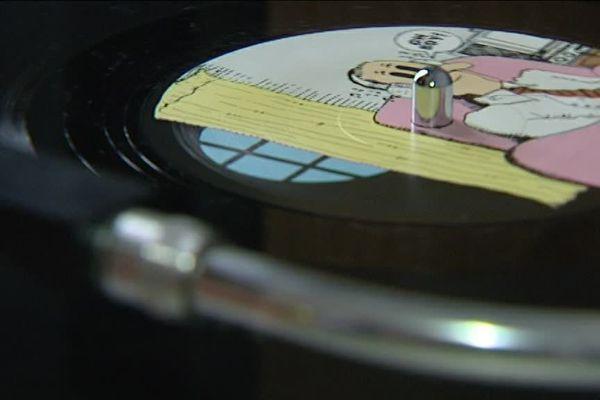 Lucie détient une collection de plus de trente vinyles de Janis Joplin