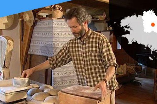 Vincent Luneau, paysan boulanger à Trémargat