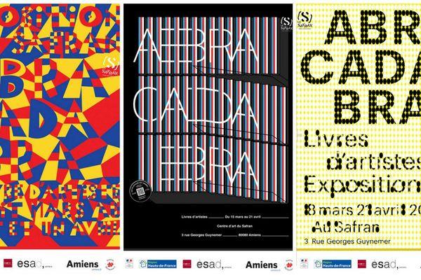 """En tout, 38 affiches et contenus animés augmentés ont été produits pour l'exposition """"Abracadabra"""""""