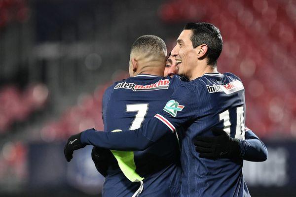 Le PSG a vaincu Brest 3 à 0 et se qualifie pour les 8e de finale de Coupe de France.
