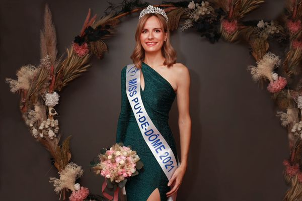 C'est Anaïs Werestchack qui a été sacrée Miss Puy-de-Dôme 2021, samedi 5 juin, à Besse (63).